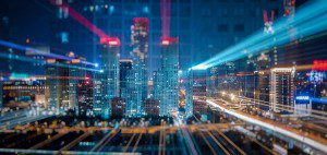 Futuristic city picture