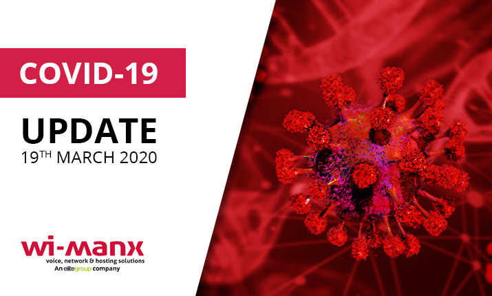 COVID-19 Update 19th March 2020